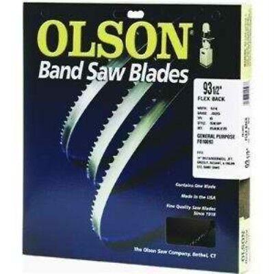 Olson Saw Fb23193db 12 By 0.025 By 93-12-inch Hefb Band 3tpi Hook Saw Blade