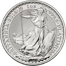 2018 1 oz British Platinum Britannia Coin (BU)