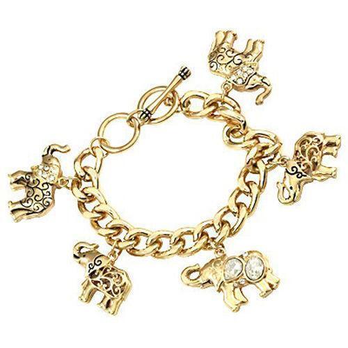 Elephant Charm Bracelet Ebay