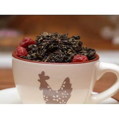 Gourmet Loose Leaf - Decaf Cherry Gourmet Tea Loose Leaf China Blended Black or Green Tea Leaves