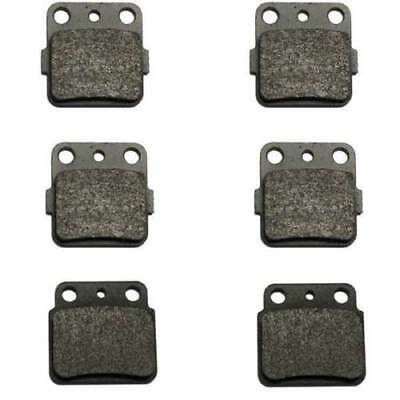 Fr+R Semi-Metallic Brake Pads For 2003-2014 SUZUKI LT-Z 400 LTZ400 Quadsport 400