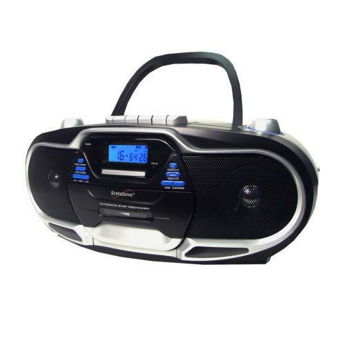 portable cd cassette player ebay. Black Bedroom Furniture Sets. Home Design Ideas