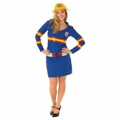 Rubies Pompiere Femmina Costume Adulto da Donna Grande Pompiere