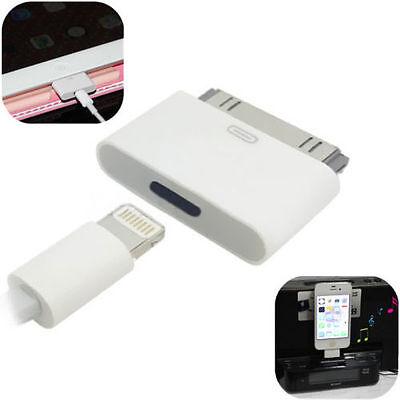 Adaptador convertidor hembra 8 pin a macho 30 pin para iPhone 4,...