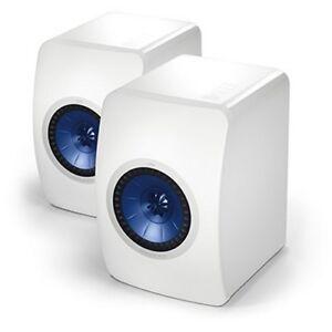 KEF LS50 WHITE HiFi Monitor speakers BRAND NEW SEALED! LAST ONE