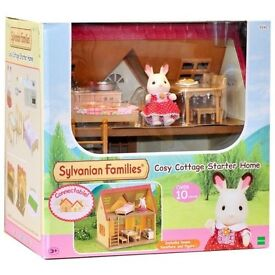 Sylvanian Families Cosy Cottage Starter Home _ Brand New Boxed