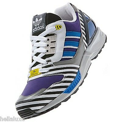 Adidas ZX 8000 MEMPHIS PACK Running 9000 superstar galaxy 700 Gym Shoe~Mens 10.5