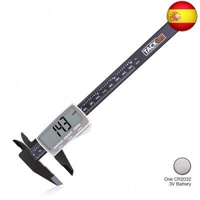 TACKLIFE-DC01-Calibre Digital Plástico de 0-150mm/ Pie de Rey Calibrador