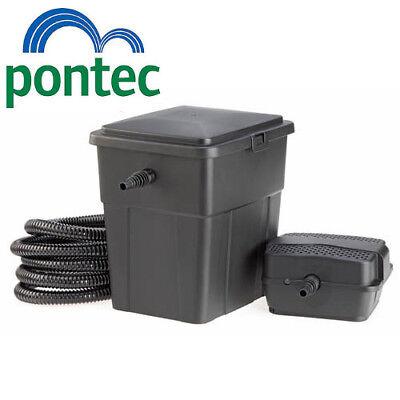 Pontec PondoClear 4000 Koi Fish Pond Box Filter / Pump / UV / Hose Complete Set