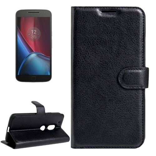 "COVER CUSTODIA PER MOTOROLA LENOVO MOTO G4 PLAY 5,0"" BUSINESS LIBRO NERO XT1604 copy-13026"