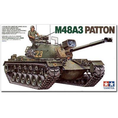 TAMIYA 35120 U.S. M48A3 Patton Tank 1:35 Military Model Kit
