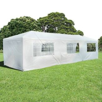 Wedding Gazebo Outdoor Marquee Party Tent 3m x 9m White Cooper Dandenong South Greater Dandenong Preview