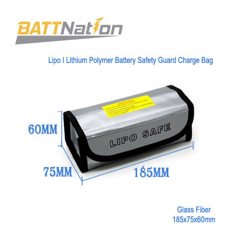 LiPo Battery Fireproof Explosion proof Guard Charging Safe B