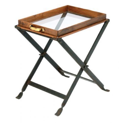 . Wood Folding Table   eBay