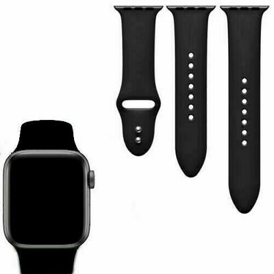 correas para apple watch 42mm 44mm 38mm Negro bandas serie 0 1 2 3 4 brazalete