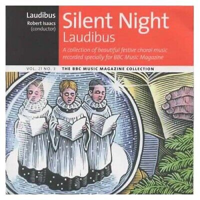 Silent Night ~ Laudibus ~ Robert Isaacs ~ Holiday ~ Christmas ~ CD ~ Good ()