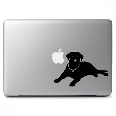 Labrador Dog Vinyl Decal Sticker for Car Window Bumper Laptops Mackbook Air Pro