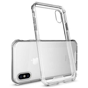 iPhone X Case-Crystal Clear Transparent Soft TPU Gel Cover