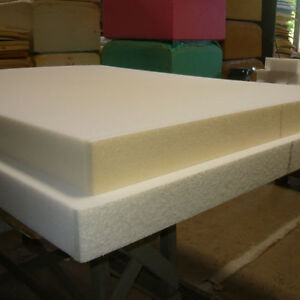 SPONGE RUBBER SHEETS  2 FT X 6 FT. X 4 INCH THICK .
