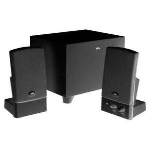Cyber Acoustics CA-3000 3-Piece PC Speaker System (New Other)