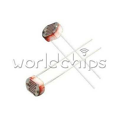 50pcs Photo Light Sensitive Resistor Photoresistor 5549 Gl5549