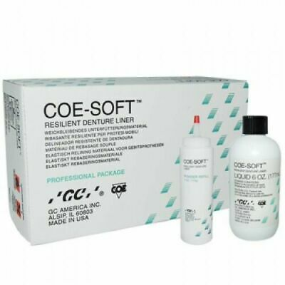 Gc 344001 Coe-soft Soft Denture Reline Material Self Cure Professional Pack