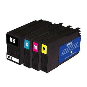 4 pack 950xl 951xl ink cartridges for hp officejet pro 8600 premium 8100 ebay. Black Bedroom Furniture Sets. Home Design Ideas