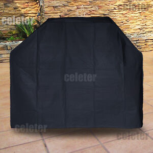 New 4 Burner Waterproof BBQ Cover Gas Charcoal Barbeque Grill Protector ZQ6AB