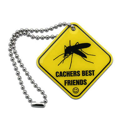 Official Geocache Cachers Best Friends - Mosquito Tag