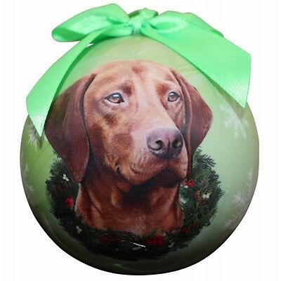 VIZSLA ~ CHRISTMAS BALL ORNAMENT  #55