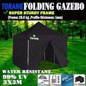 Brand New Torang 3x3 m Folding Outdoor Gazebo Marquee Tent Canopy Maylands Bayswater Area Preview