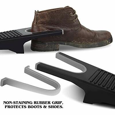 Heavy Duty Boot Jack with Non-Staining Rubber Grip Boot Puller One Size Fits All