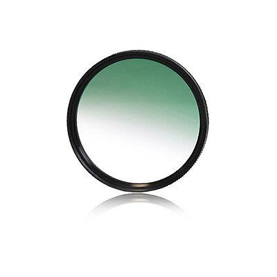 Verlaufsfilter Farbfilter Verlauffilter  grün green   für alle Objektive 77mm
