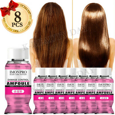 Solid Damage Hair Control Hair Ampoule * 8pcs Protein Treatment Moisture Hair A5