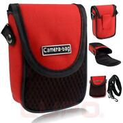 Red Digital Camera Case