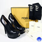 Fendi Leather Pump, Classic Heels for Women