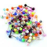 100 Tongue Rings