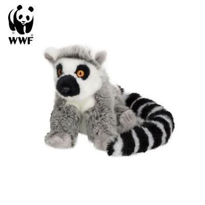 Lemur Stofftier (WWF Plüschtier Lemur (15cm) lebensecht Kuscheltier Stofftier Affe Äffchen Asien)