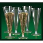 Plastic Wedding Toasting Glasses