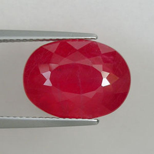 8.22 ct  SIZZLING VERY RARE FINE PINK RED 100%  NATURAL RHODONITE   0569 LG