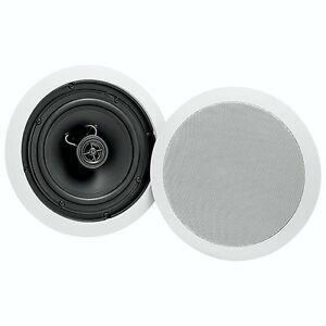 Dynex 6.5in Ceiling Speakers - New in box