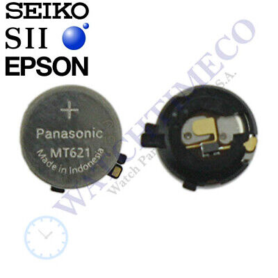 Panasonic MT621 Battery Capacitor Seiko S. Epson AS01 AS06 AS32 AS37 AS82 AS87