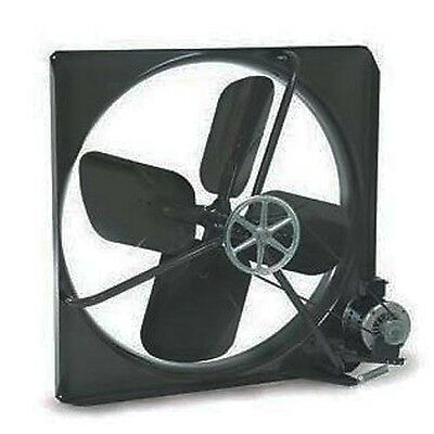 Exhaust Fan Commercial - Belt Driven - 30 - 115 Volts - 9500 Cfm - 605 Rpm