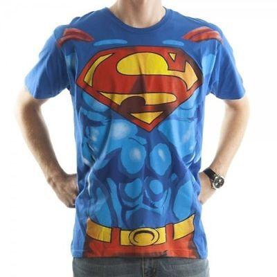 SUPERMAN T-Shirt Suit Up Costume Mens DC Comics New Authentic S-2XL