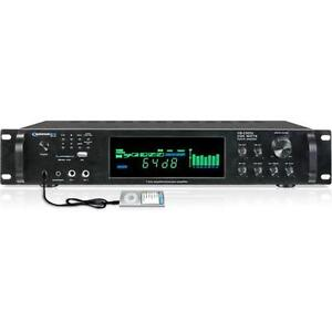 Technical Pro H2502URIBT Digital Amplifier with AM/FM Tuner
