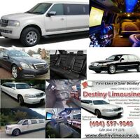 Destiny Limousine Ltd - Best Limo Service in Vancouver