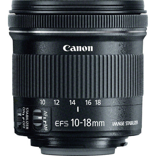 Canon EF-S 10-18mm f/4.5-5.6 IS STM Lens - 9519B002 - Brand New