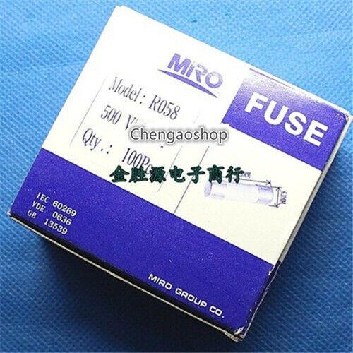 100PCS(1 BOX) NEW MRO RO58 20A 500V Fast Blow Tube Ceramic Fuse 6x30mm #Q8042 ZX