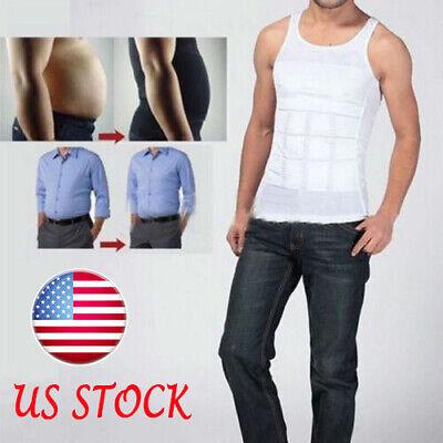 men s body slimming vest waist belly
