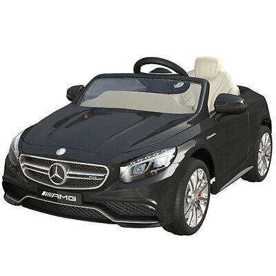 Mercedes-Benz AMG S63 Kinderauto Kinderfahrzeug Kinder Elektroauto 2x MT 12V SW